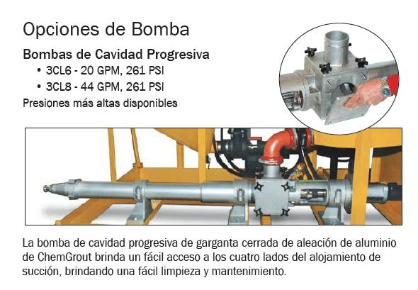 bomba de cavidad progresiva